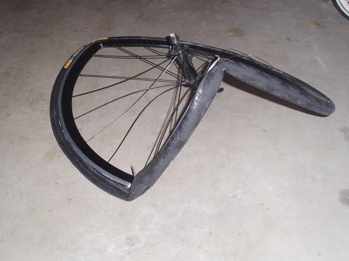 taco'ed wheel