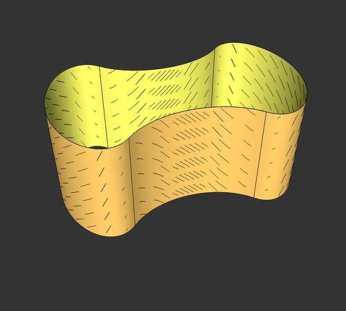 Convex2toruscharfoln