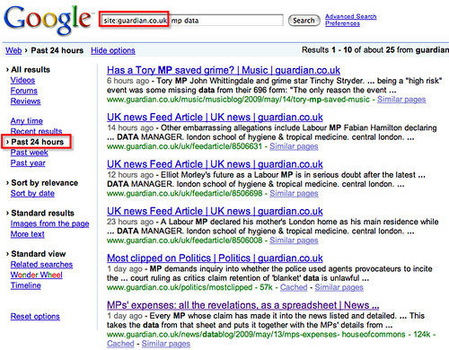 Querying a Google Spreadsheet of MPs' Expenses Data: So Who