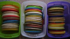 Golf Disc Storage
