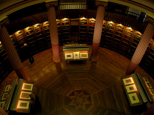 library at the Musee Guimet