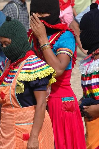 Zapatista Women at Dec 2007 Encuentro.
