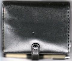 New combo wallet/sketchbook outside