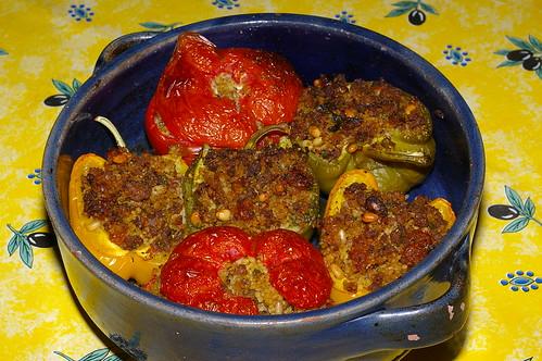 Stuffed vegetables by La belle dame sans souci