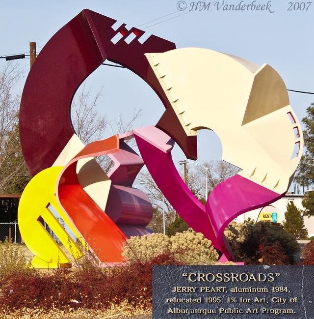 A Colorful Sculpture