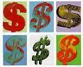 Dollar Symbols Warhol