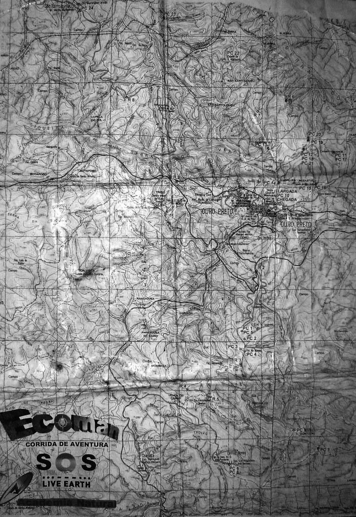 mapa ouro preto