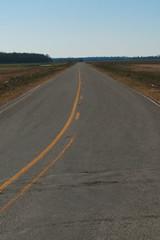 Long, Straight Delta Roads