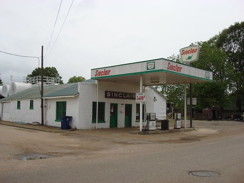 Old Sinclair Gas Station, Pontotoc Mississippi
