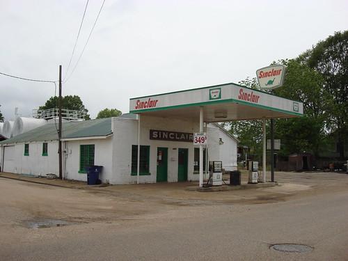 Old Sinclair Gas Station, Pontotoc Mississippi