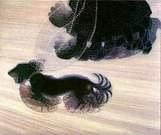 Giacomo Balla. Dinamismo de un perro con trailla.