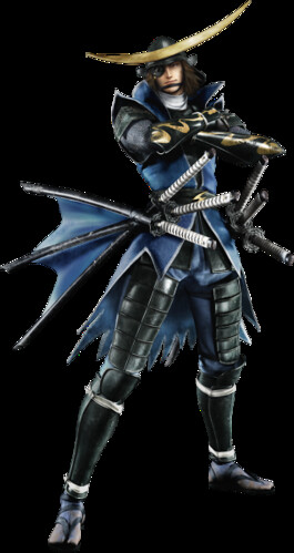 Date Masamune in Sengoku BASARA