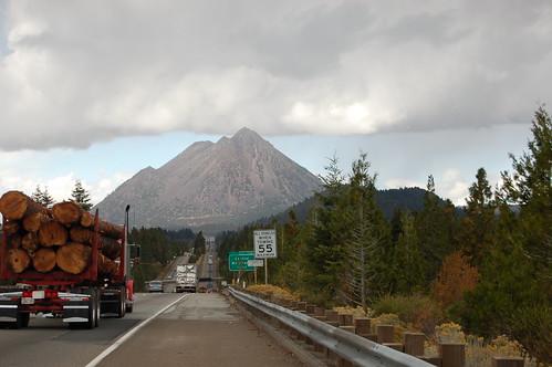 Mt. Shasta from I-5
