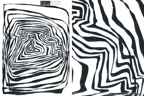 LINEart Polaroid SX70 artwork series no.2