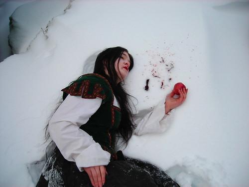 Kat as Snow White