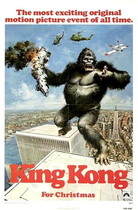 King Kong 1976 poster 1