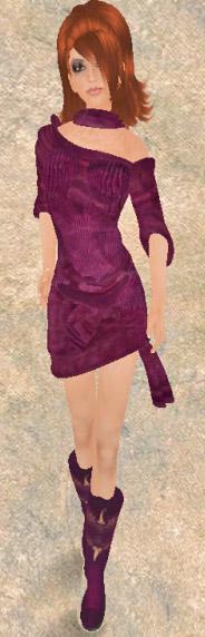 Cubic Effect Dress