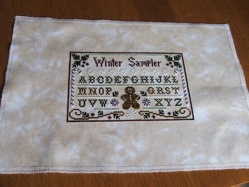 Winter Sampler - Little House Needleworks