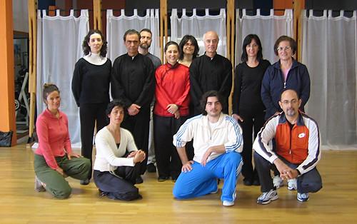 Seminario Taijiquan stile Chen Xiaojia della maestra Carmela Filosa presso la palestra Bodyline di Paceco (Trapani)