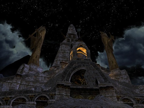 The Southern-watchtower of Gondor in Enedwaith