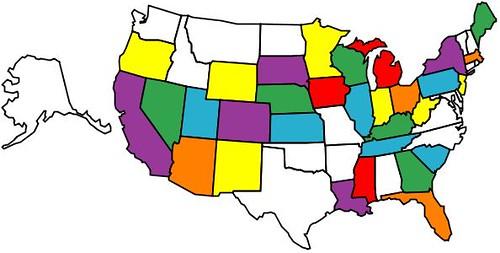 States we\'ve visited