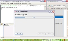 Installing JEdit on the Asus Eee PC