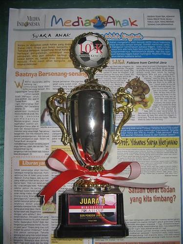 Tropy Futsal Mini Soccer POLA 11 Cup by you.