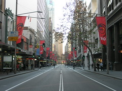 George Street, Sydney - Empty!