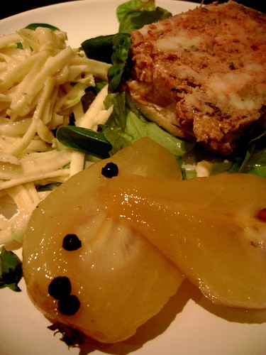 Pork Terrine with Picked Pears and Celeriac Remoulade