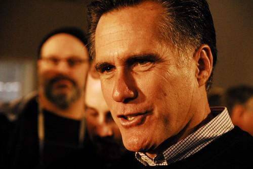 Mitt Romney by Tim Somero via flickr