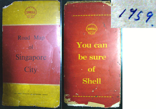 My Old Singapore Road Maps (2/6)