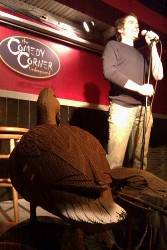 F-Duck at the Comedy Corner