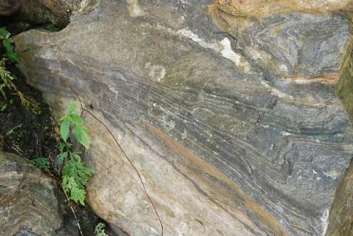 砂卡噹?道-岩石紋路