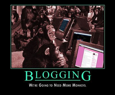 Blogging.  I LOL'd.