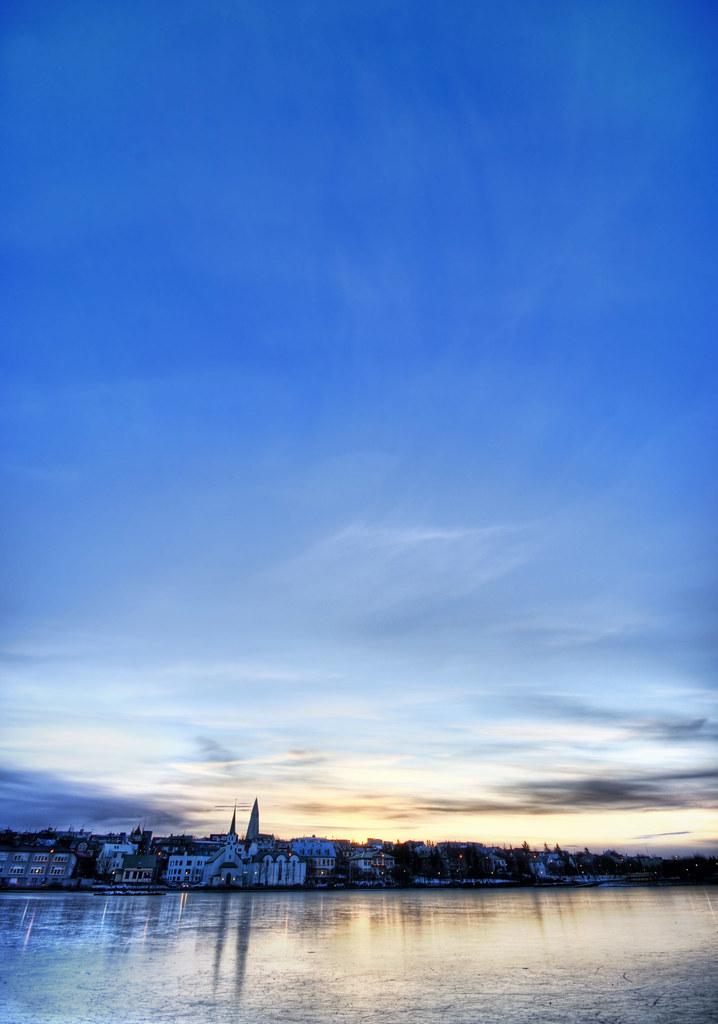 Blue Skies of Iceland