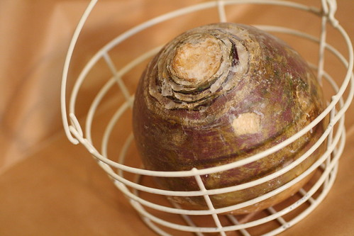 Rutabaga in a Basket