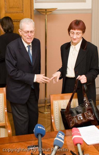 lovro Šturm in Janja Roblek 20080407_2506