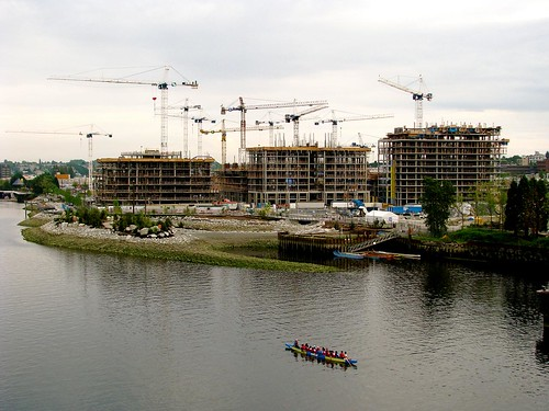 Overall shot from Cambie Bridge