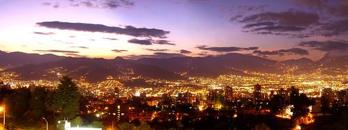 Atardecer de Medellín