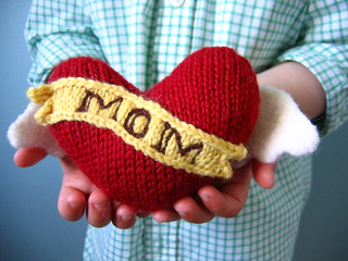 Free #knitting pattern \\ Winged #Heart Tattoo \\ http://ow.ly/Y0nR4 #valentinesday
