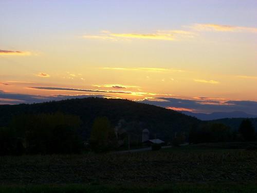 Columbia County Sunset