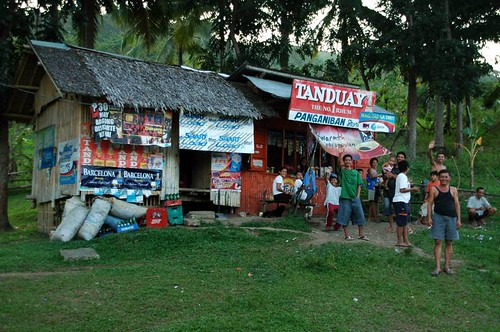 Image of a typical sari-sari store in rural Philippines