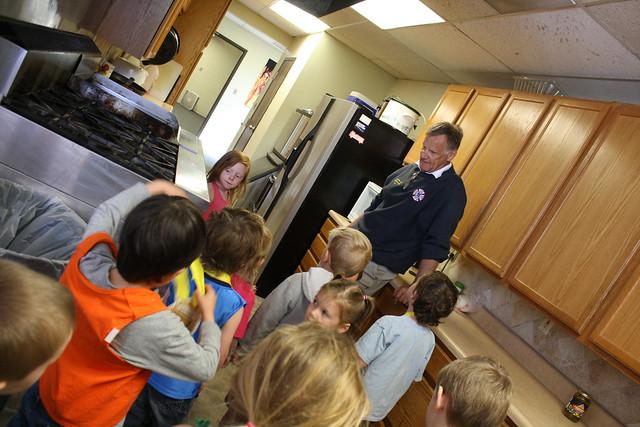 fire station field trip • preschool - 04