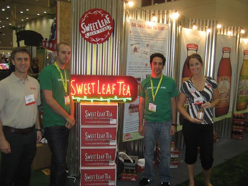 Sweet Leaf Tea @ Expo East