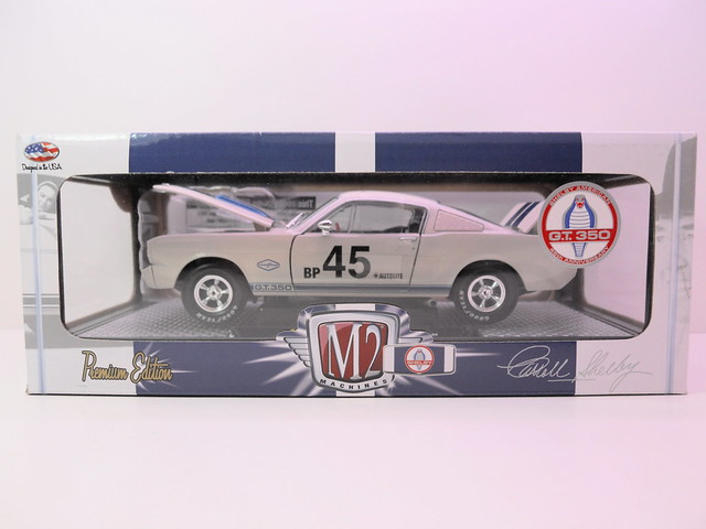 M2 Shelby GT350 White (1)