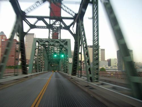 Westbound Over Hawthorne Bridge