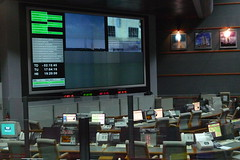 Arianespace control room