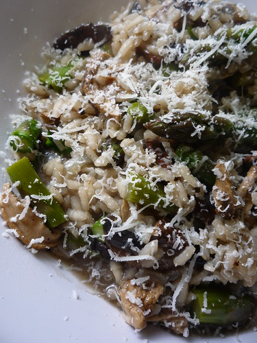 St Georges Mushrooms & Asparagus Risotto