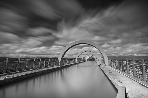 Falkirk Wheel up top