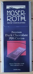 Moser Roth - chocolate from Aldi